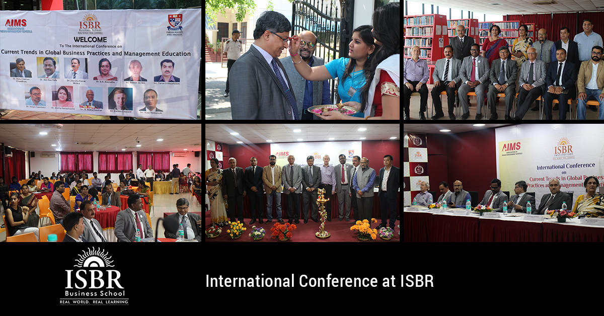 International Conference @ ISBR