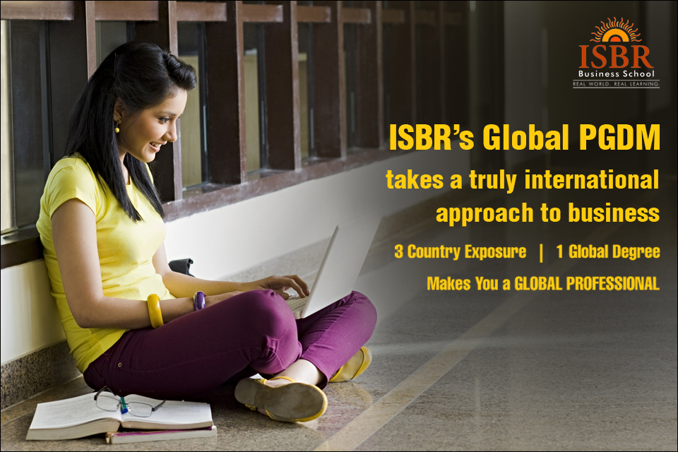 PGDM at ISBR Business School