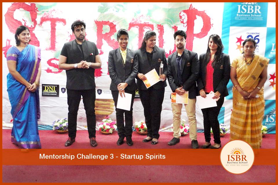 Mentorship Challenge III- Startup Spirits