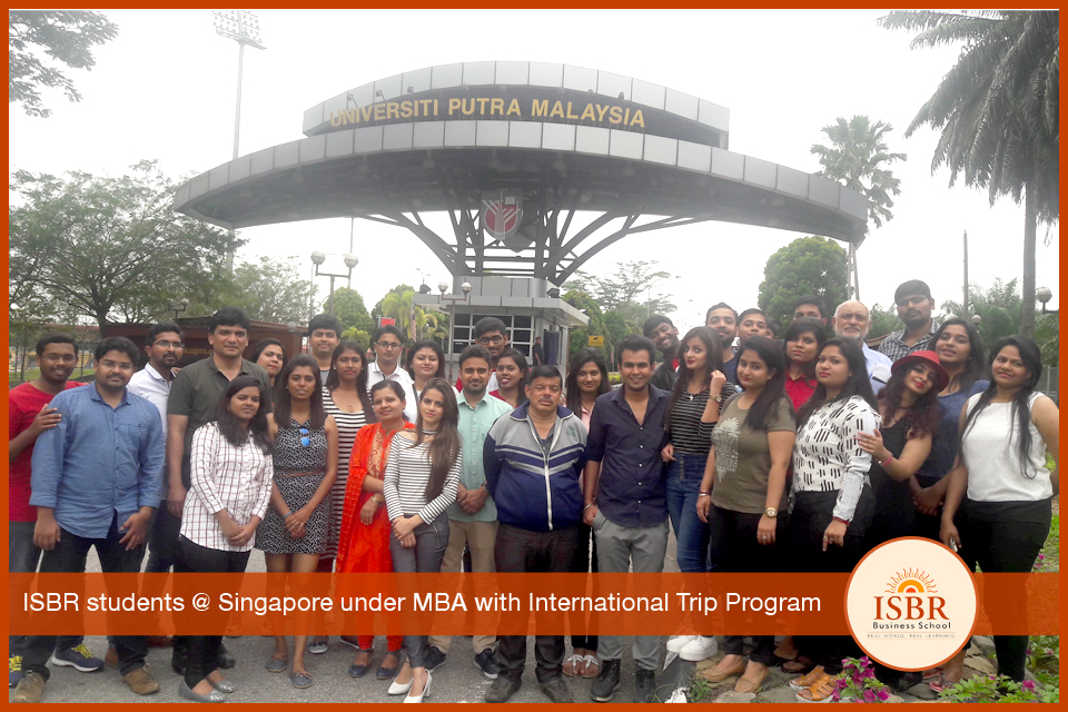 MBA/ PGDM with International Trip Program