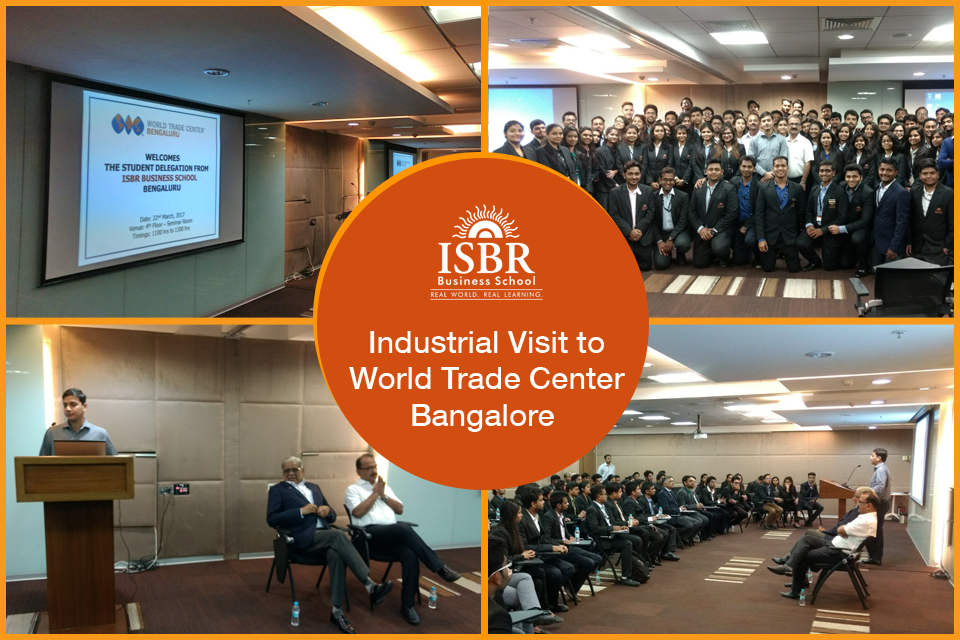 WTC Visit by ISBR MBA and PGDM students
