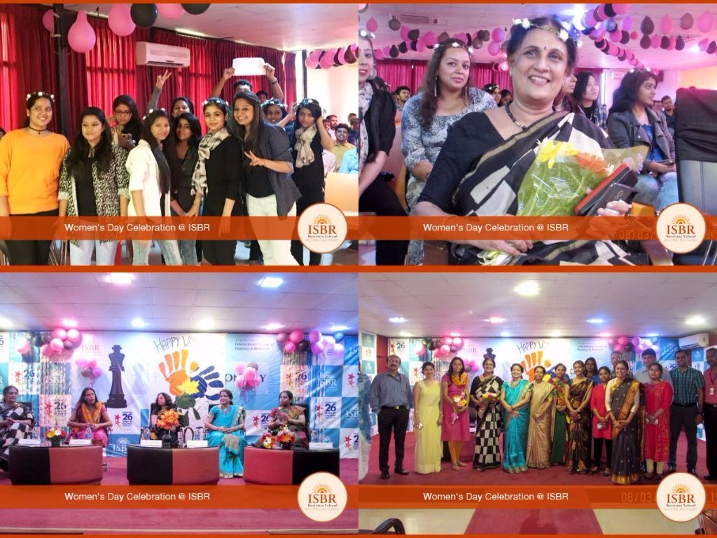 women's day celebration at ISBR