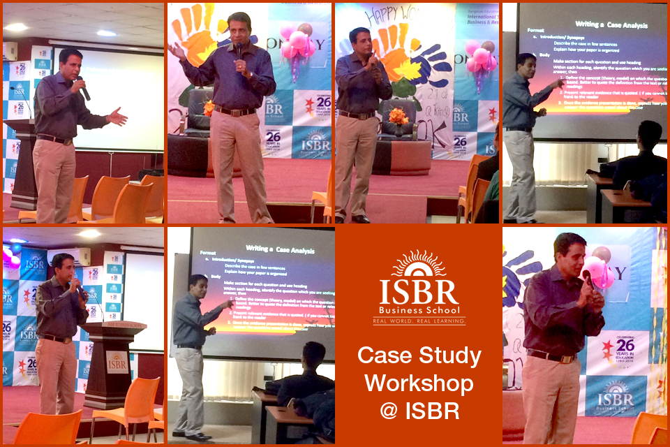 Case Study Workshop at ISBR