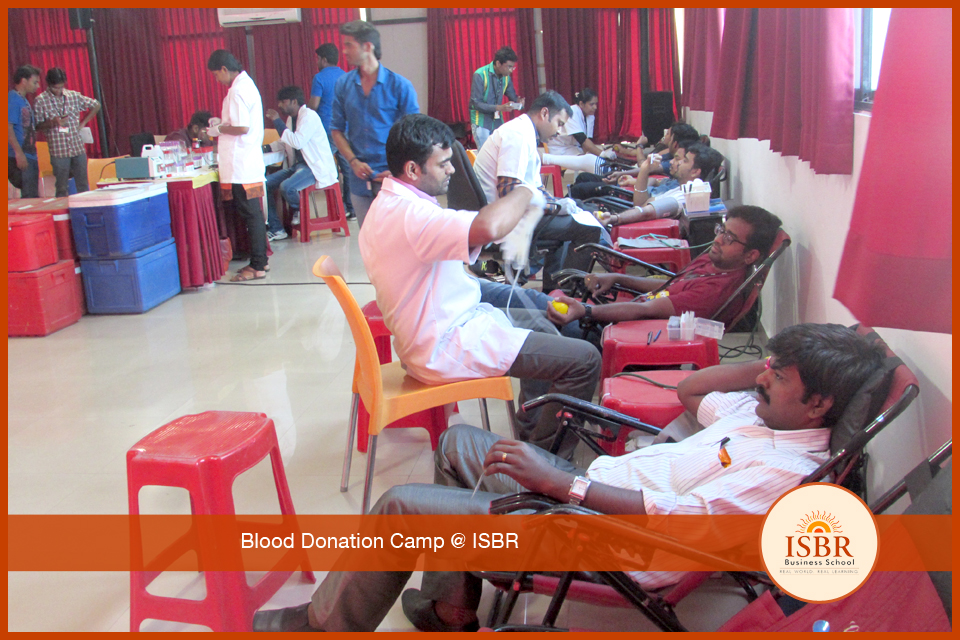 Blood Donation Camp @ ISBR