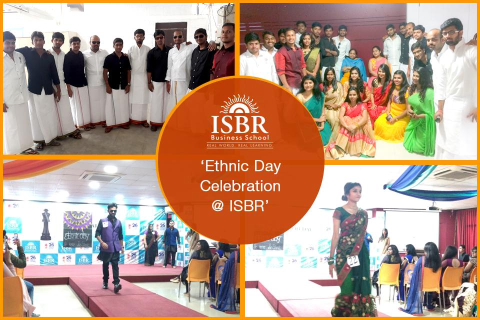 Ethnic Day @ ISBR