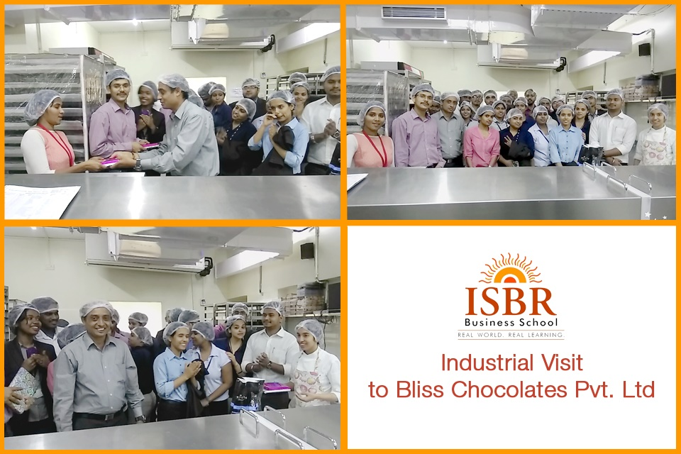 Industrial Visit to Chocolate Factory