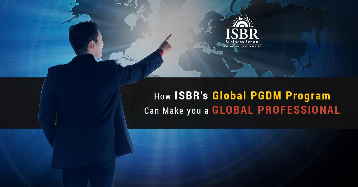 Global PGDM Program by ISBR