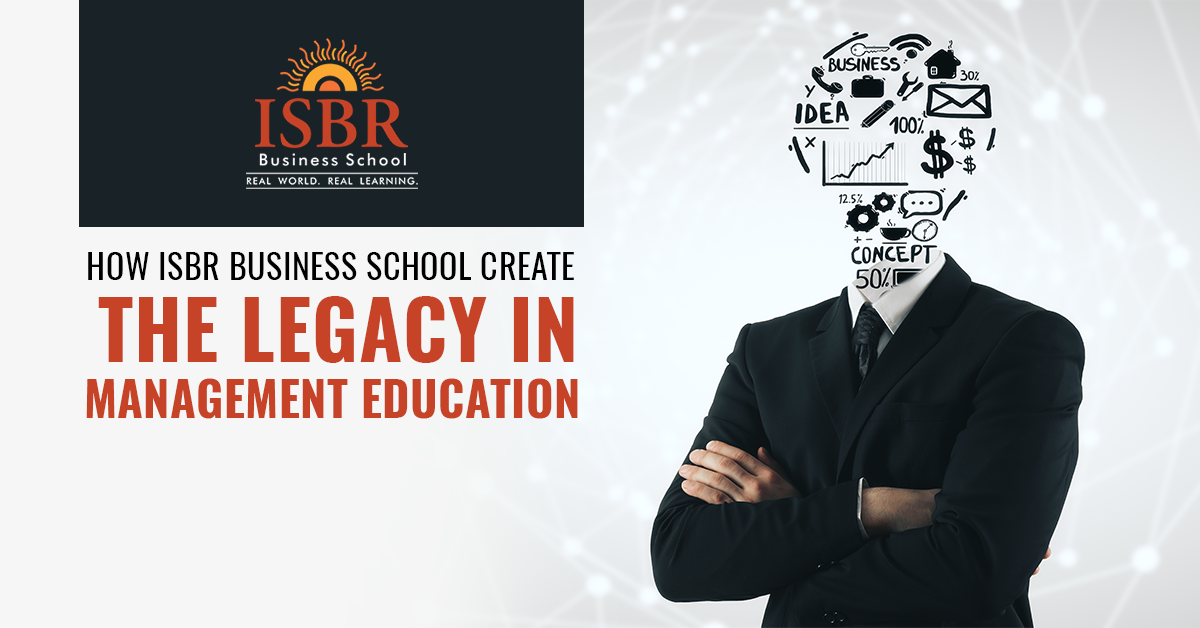 ISBR-27 Years of Experience in delivering top quality management education