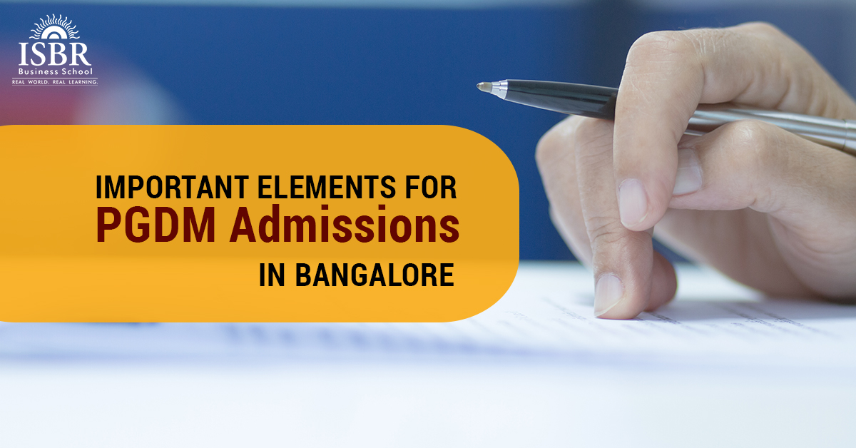 Important points to note for PGDM admission