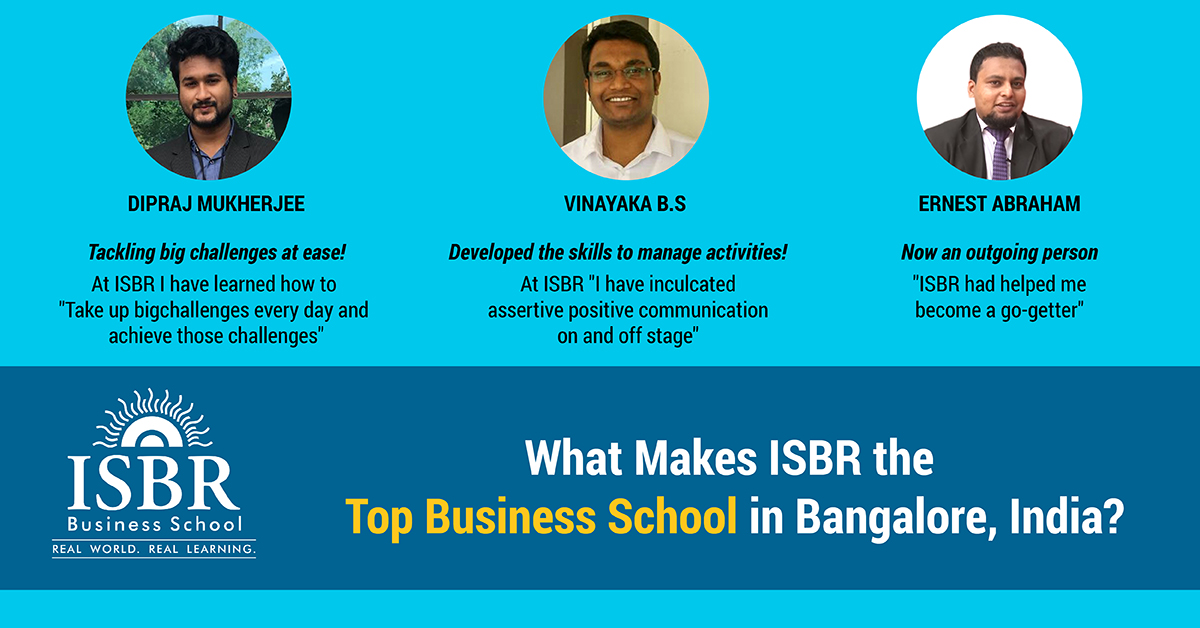 ISBR as a Top B School in Bangalore