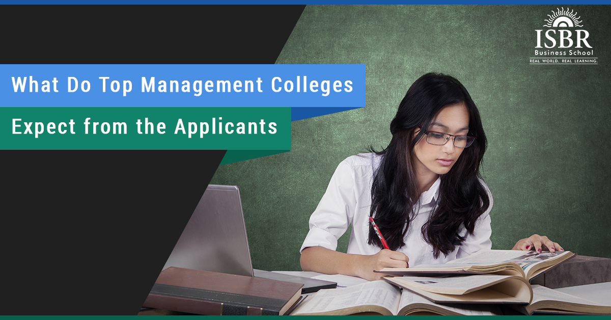 What do MBA colleges look for in applicants