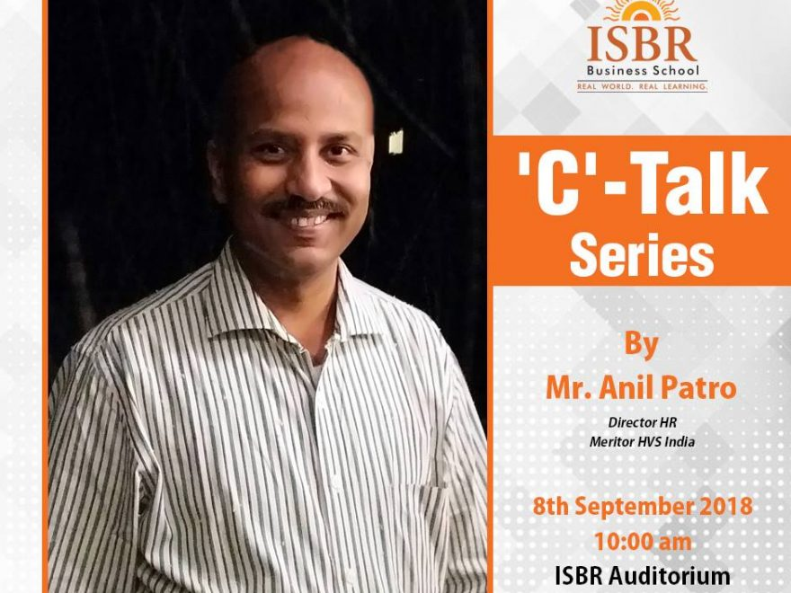 C-Talk By Anil Patro At ISBR