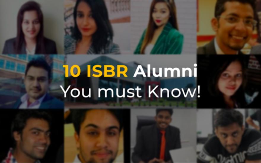 ISBR Top 10 Alumni