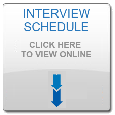 ISBR Interview Schedule